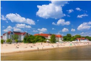 Sopot en el Báltico polaco