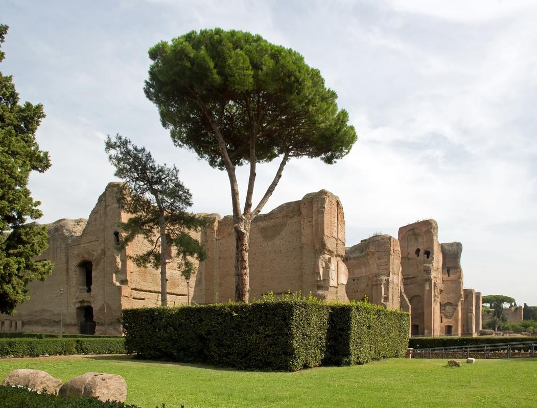Antiguas termas romanas