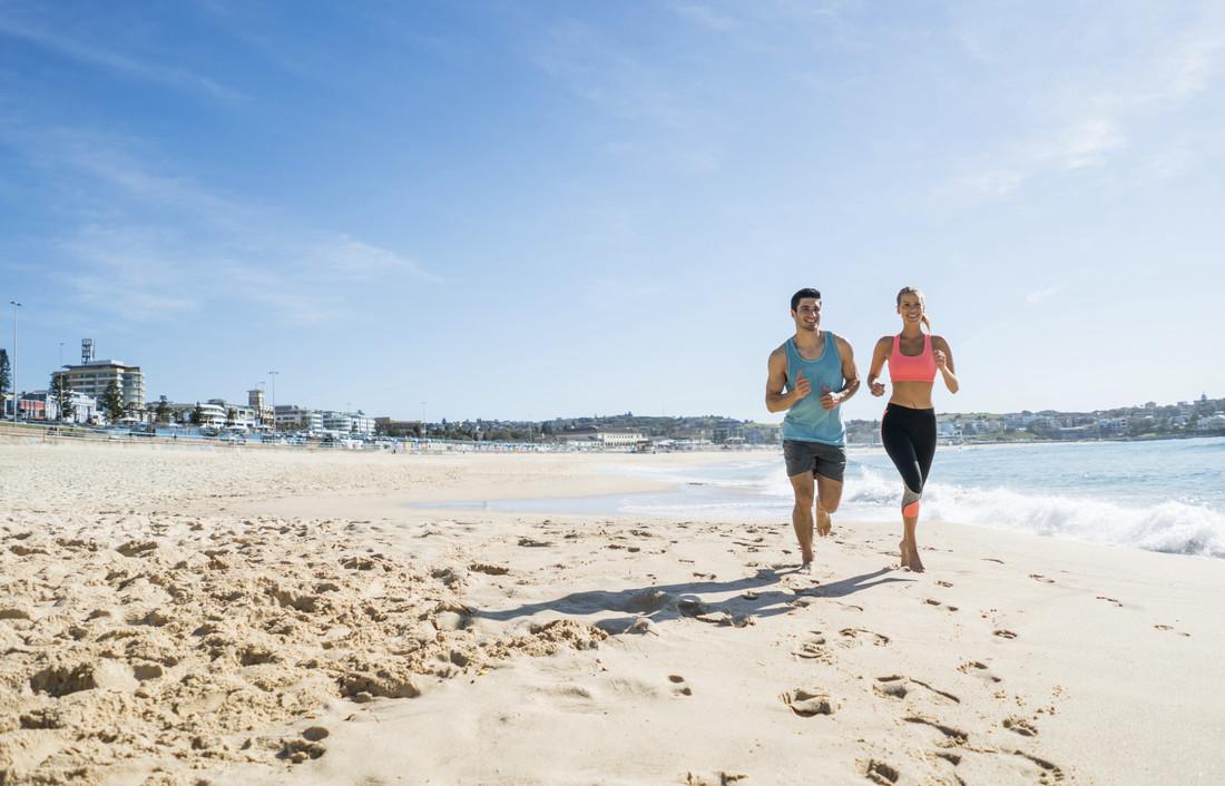 deporte junto al mar