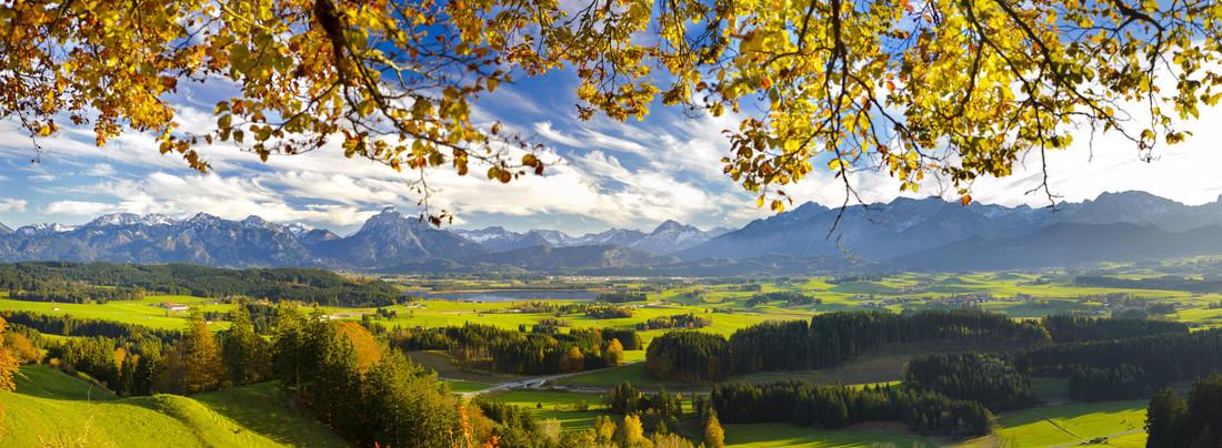 Paisade de Baviera, sur de Alemania
